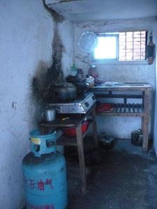 Joney's Dad's currrent Kitchen
