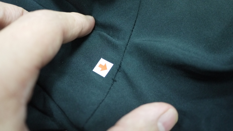 QC - Broken Surge along seam (aka hole in garment)