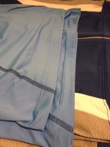 Nike Knit Shirt, Tunneling on bottom hem