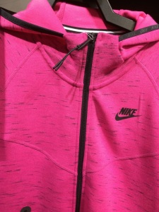 Nike Jacket, Collar Alignment
