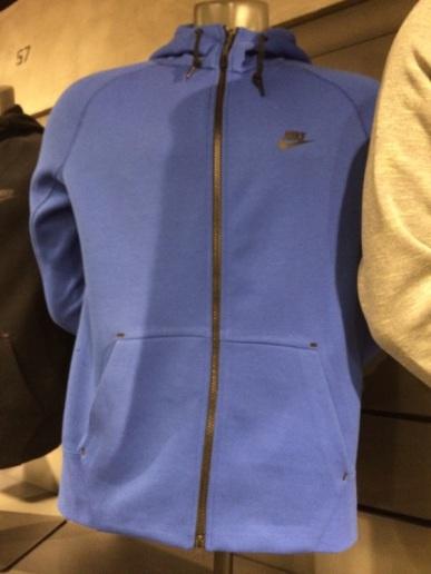 Nike Fleece Jacket, Uneven Pocket Finsih