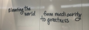 Lululemon Head Office Wall Mantra