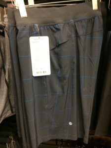 Mens short - size ratio issues