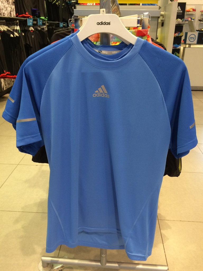Adidas Essential Top with Tunneling on hemlinesAdidas Essential Top with Tunneling on hemlines