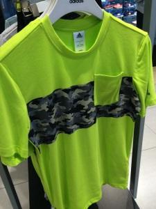 Adidas Neon Camo T-shirt