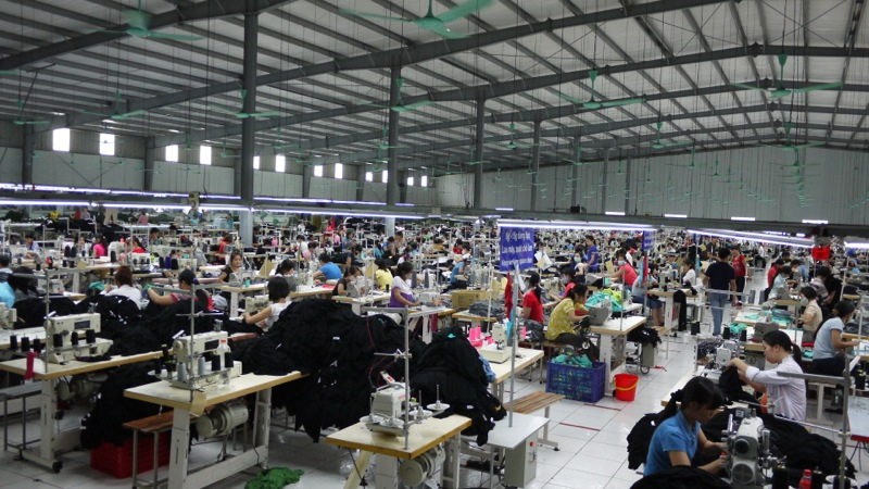 Large Scale Apparel Manufacturing