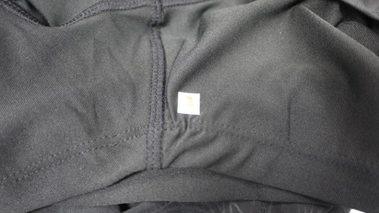 Woven Short, Gathered Stitch Line