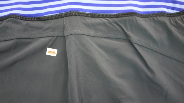 Stretch Woven Short, Panel is too BIG