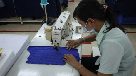 New Employee Training, Sewing