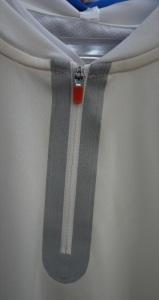 Seam Sealed Zipper Finish