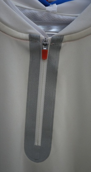 Seam Sealed Zipper Finish