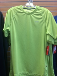 Men's Top, Gathered along neckline and look at that hem