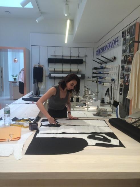 Apprentice designers on the retail floor