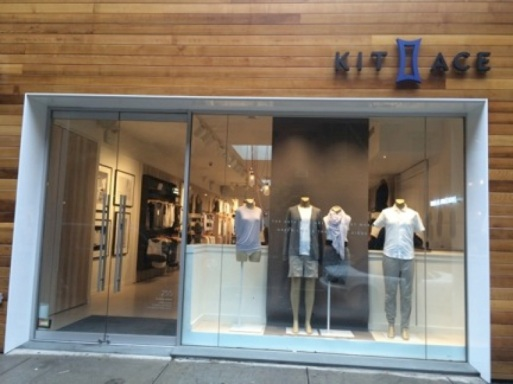 Kit & Ace, New York Store, June 2015