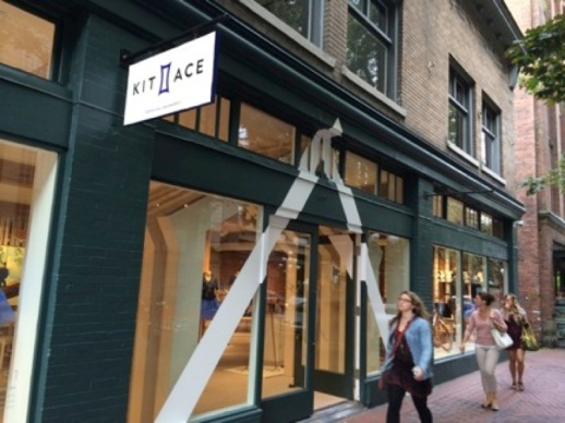 Kit & Ace First Store, August, 2014