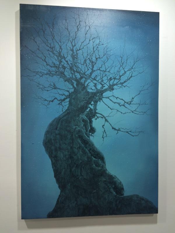 Big Blue the tree
