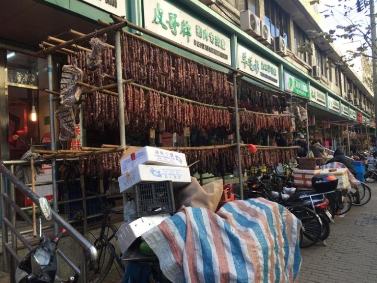 Shanghai Meat, Vegtable, and Seafood Market