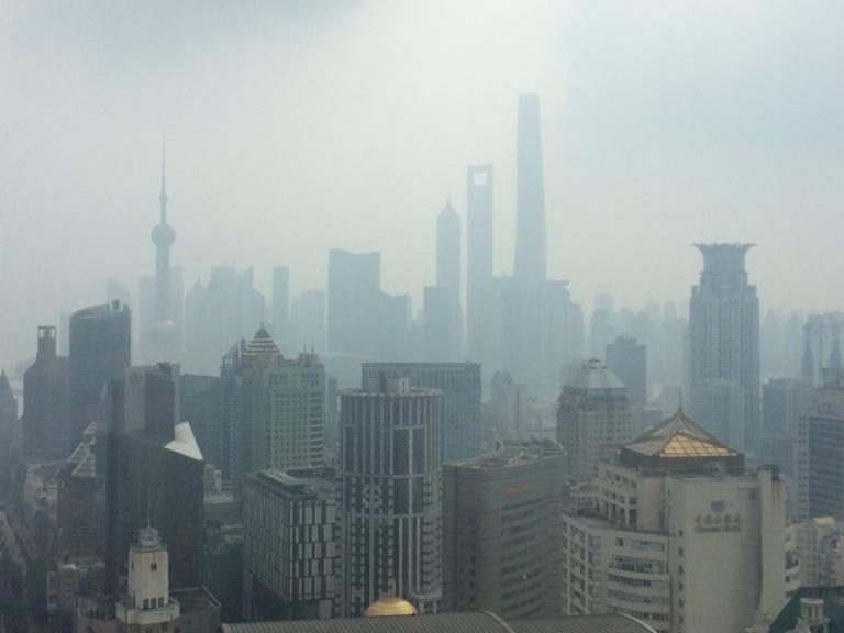 Shanghai Haze - How's your vision?
