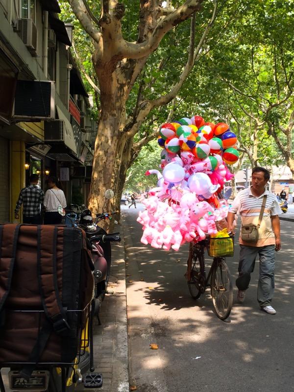 Shanghai Baloons on Wheels