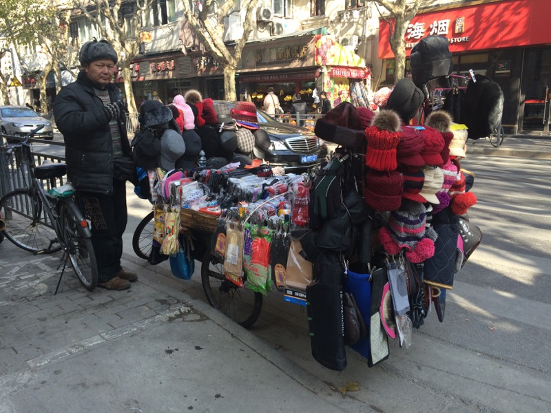 Shanghai Winter Accessories on Wheels
