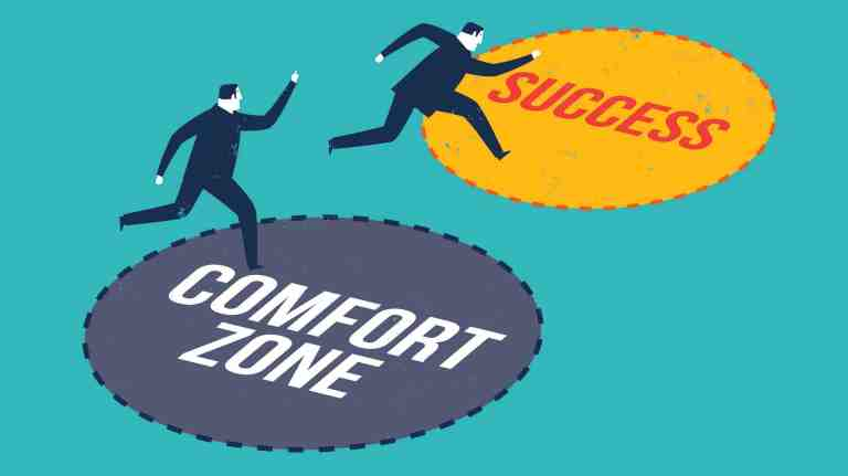 comfort zone success